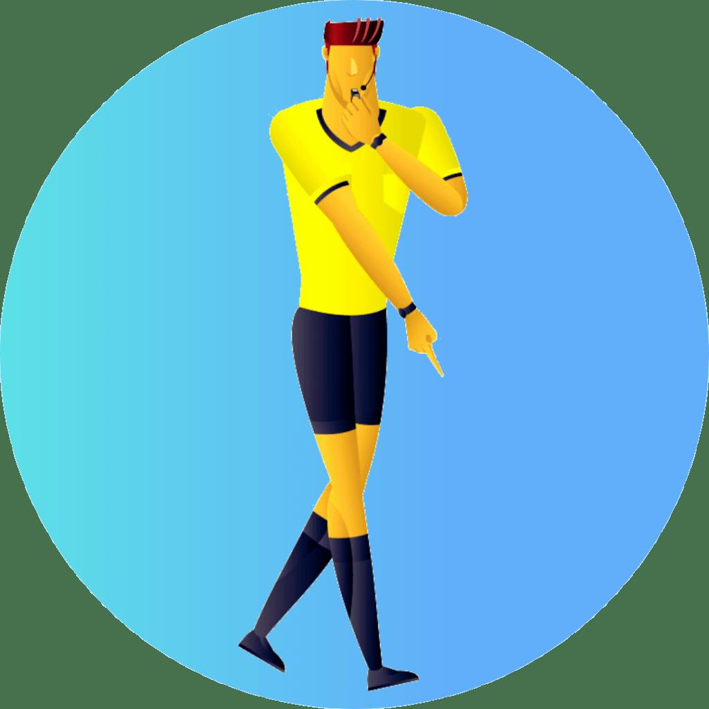 Servicios para árbitros de psicología deportiva